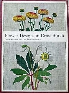 Flower Design in Cross Stitch