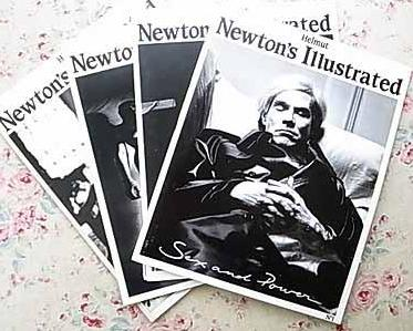 Helmut Newton's Illustrated