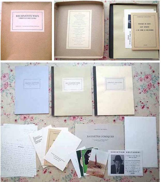 Christian Boltanski Reconstitution
