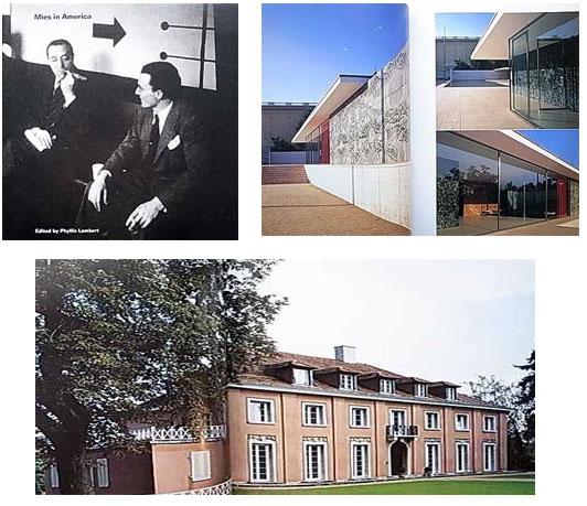 ミースの建築写真